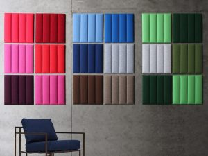 A quick word on acoustic panels and ceramic tiles